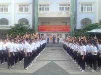 Công ty Saigon Inserco Chào Mừng Lãnh Đạo Huyện Giồng Trôm, Bến Tre Đến Thăm Trường
